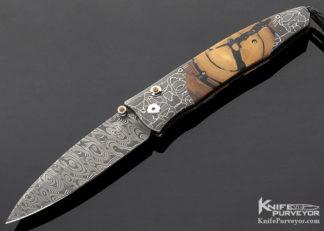 Willian Henry Custom Knife B30 WREX 048 of 100 10218